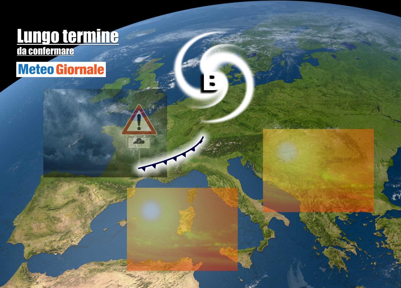 lungo termine 11 - Meteo Italia al 29 maggio: l'ESTATE ci proverà con decisione