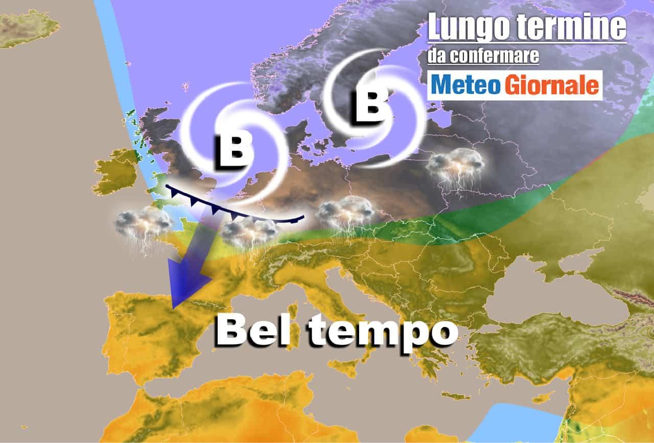 lungo termine 12 - Meteo Italia al 30 Maggio: fine mese turbolento
