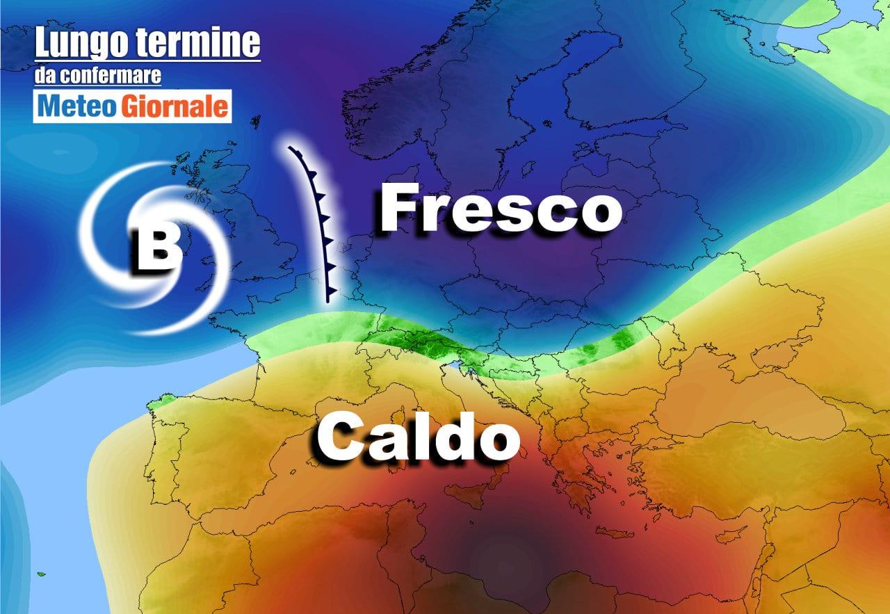 lungo termine 2 1 - Meteo Italia al 24 maggio: potrebbe arrivare l'ESTATE