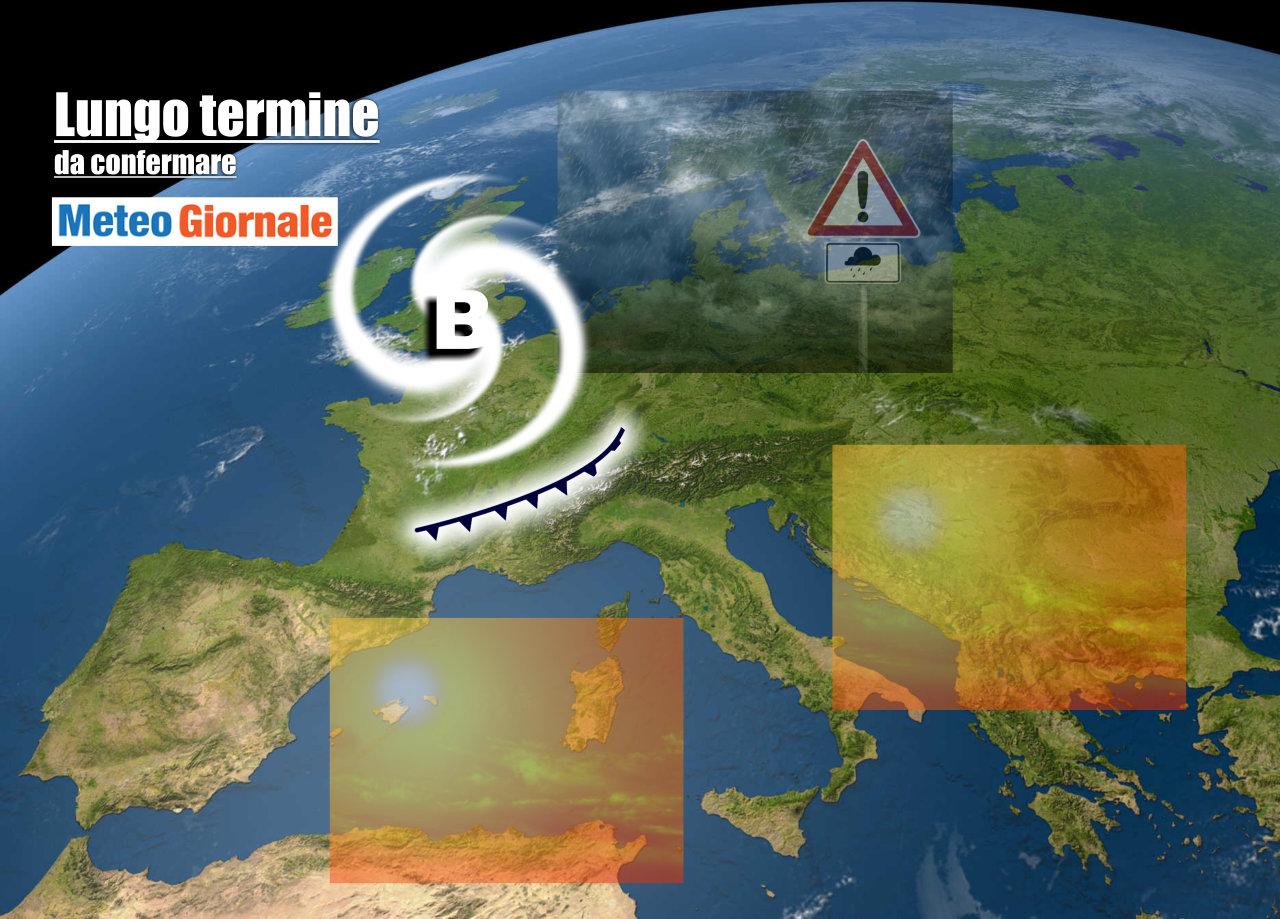lungo termine 9 - Meteo Italia al 27 maggio: ondata di CALDO, al Nord temporali