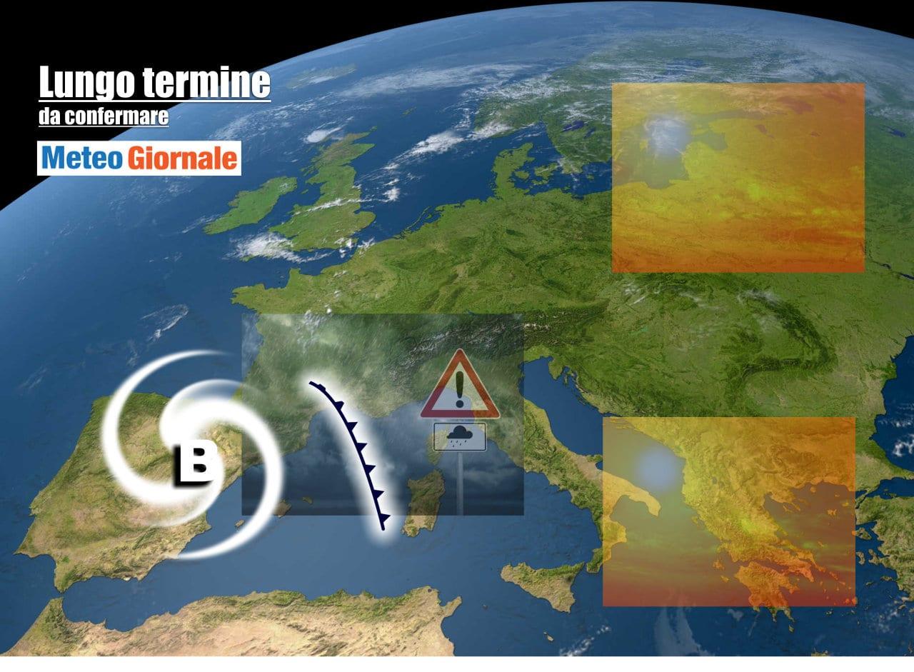 lungo termine2 - Meteo Italia al 17 Maggio: appunti d'ESTATE, poi rischio NUBIFRAGI