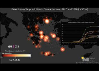 mediterraneo in desertificazione 350x250 - Mediterraneo in desertificazione. Servizio meteo dalla Grecia. Video