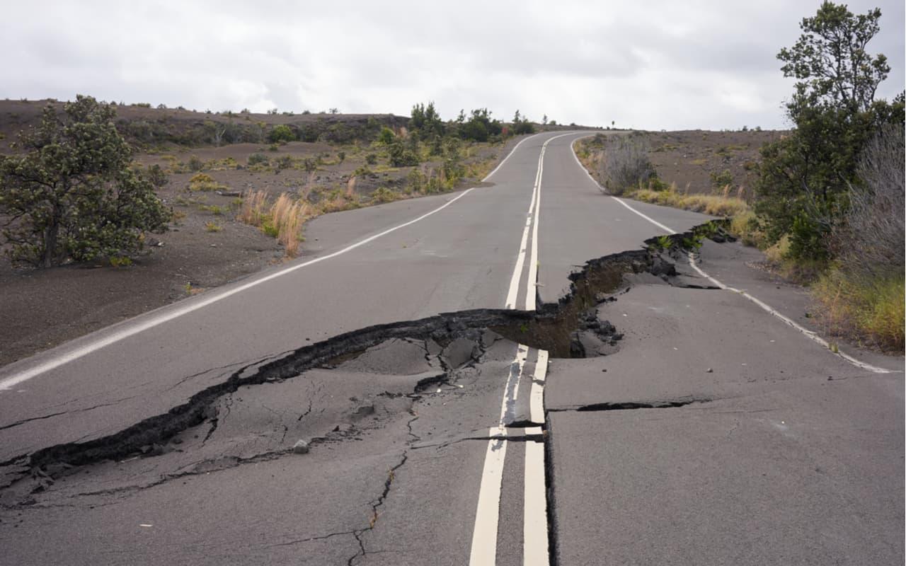 messico fessure stradali - MESSICO, improvvise spaccature nel terreno. Rischio TERREMOTO devastante?