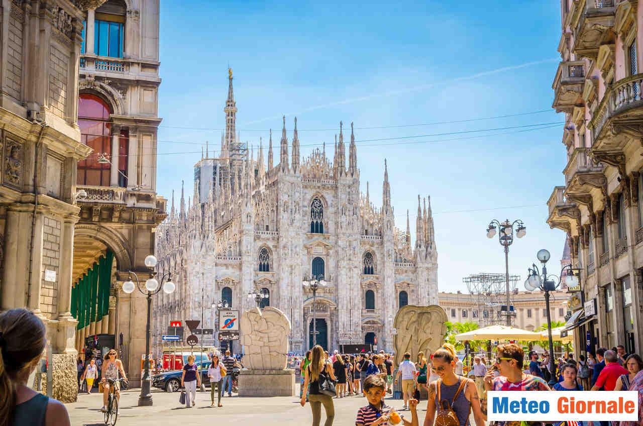 meteo 00156 - Meteo Milano, due giorni di variabilità poi diffuso maltempo è calo della temperatura