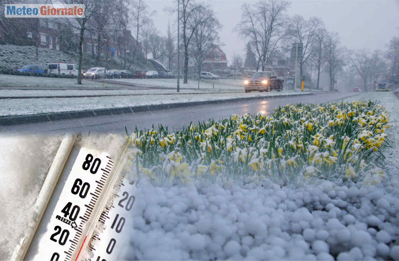 meteo freddo aprile - Aprile 2021 dal meteo bizzarro in Europa, mai così freddo dal 2003