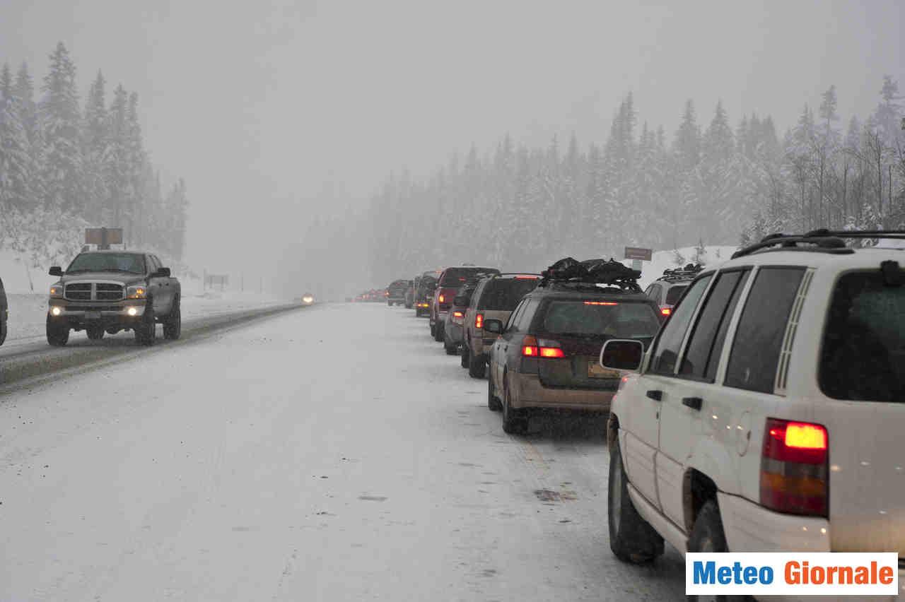 meteo giornale 00027 - Allarme meteo per neve in Finlandia, tempesta di neve nelle prossime ore