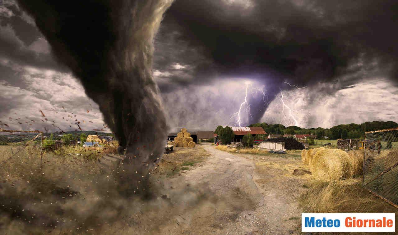 meteo giornale 00055 - Meteo estremo: due Tornado devastanti in Cina. I video impressionanti