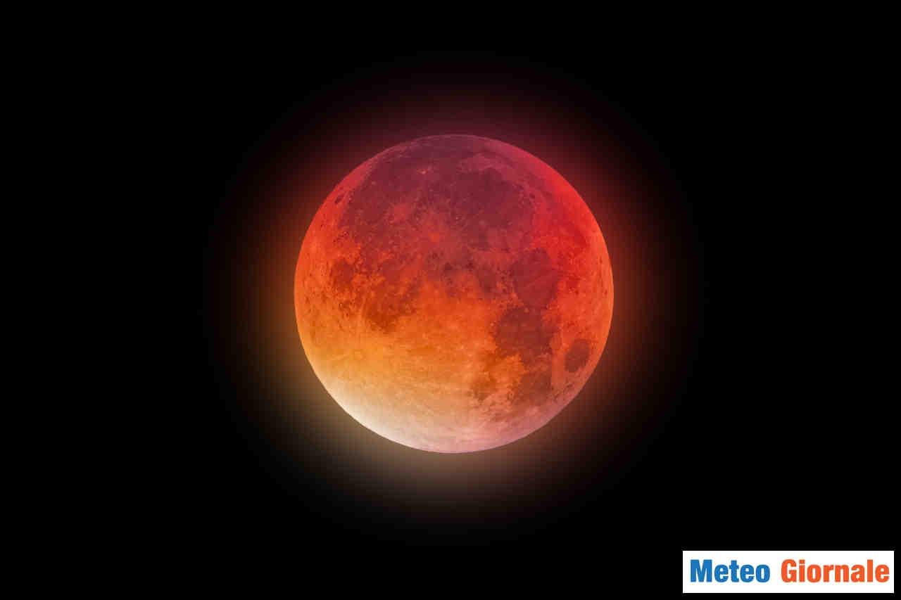 meteo giornale 00078 - Superluna di sangue ed eclissi totale. Spettacolo grandioso in arrivo
