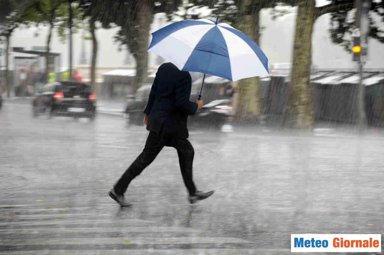 meteo giornale 00110 - METEO Italia. Viavai di perturbazioni, piogge e temporali sino fine settimana