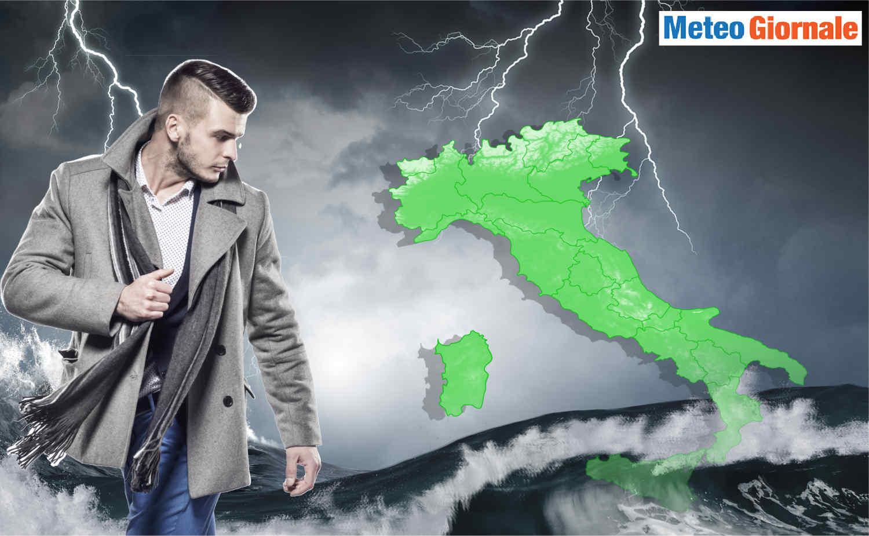 meteo maggio 2021 autunnale - MAGGIO si tinge di Meteo d'AUTUNNO: brutto tempo per molti giorni