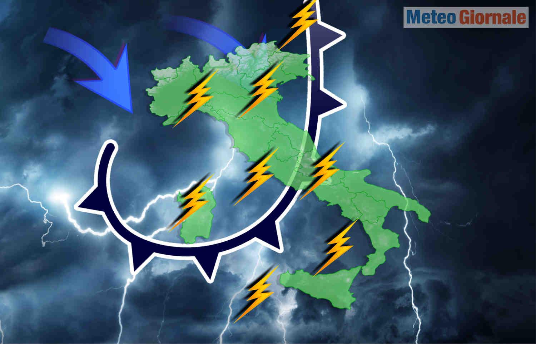 meteo perturbato oceano atlantico - METEO d'Oceano Atlantico, pessimo in Italia. Primavera incerta