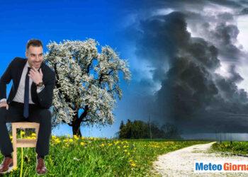 meteo temporalesco in primavera