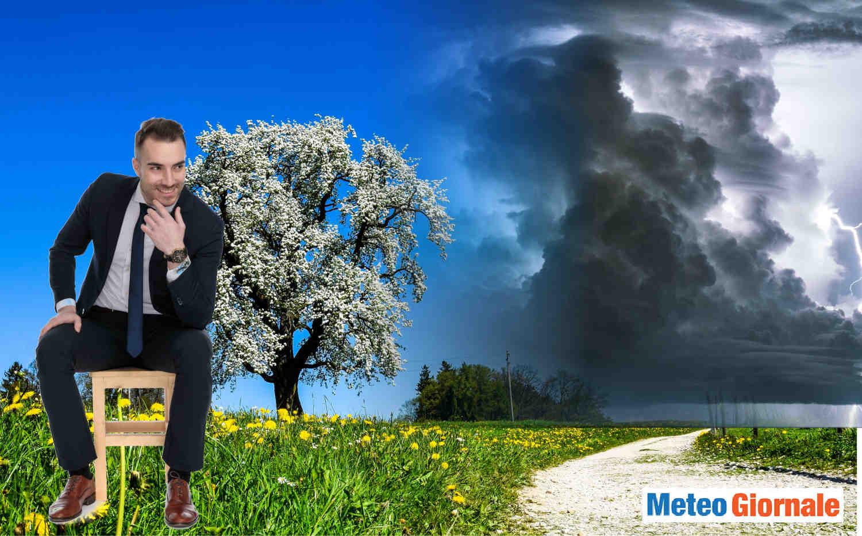 meteo temporalesco in primavera - CONFE pe il meteo di metà Maggio a rischio forti BURRASCHE