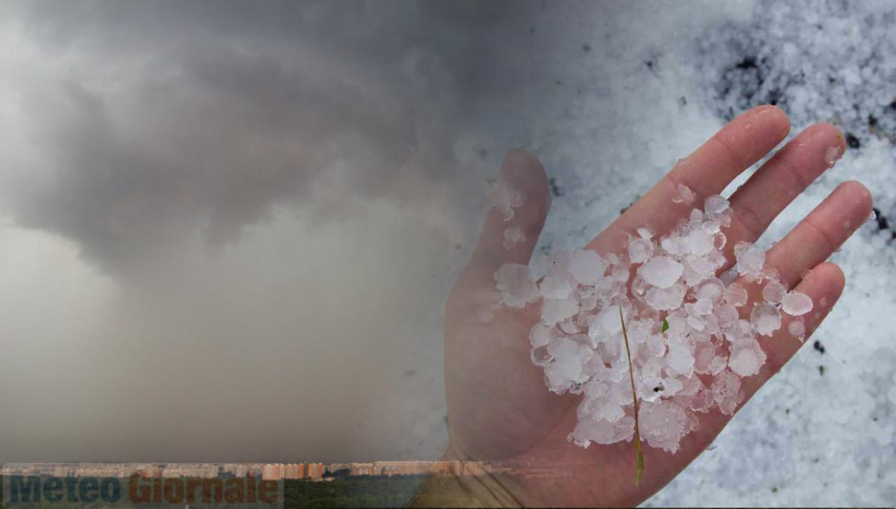 meteo weekend pioggia grandine - Perturbazione in arrivo, meteo weekend compromesso. Acquazzoni e grandine