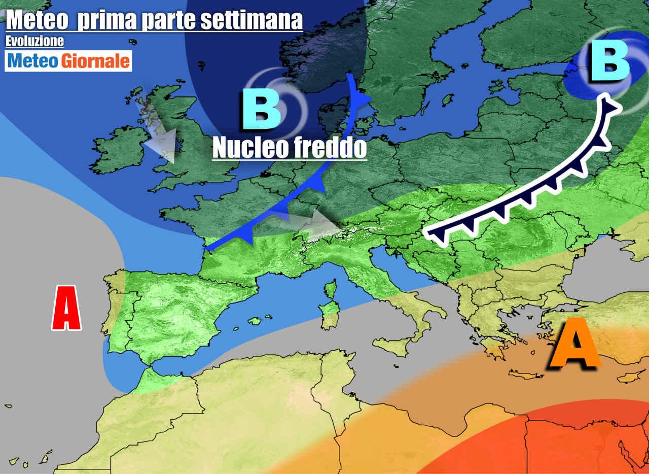meteogiornale 7 g 1 - METEO 7 Giorni anche incerto, tra SOLE e NUOVE PERTURBAZIONI