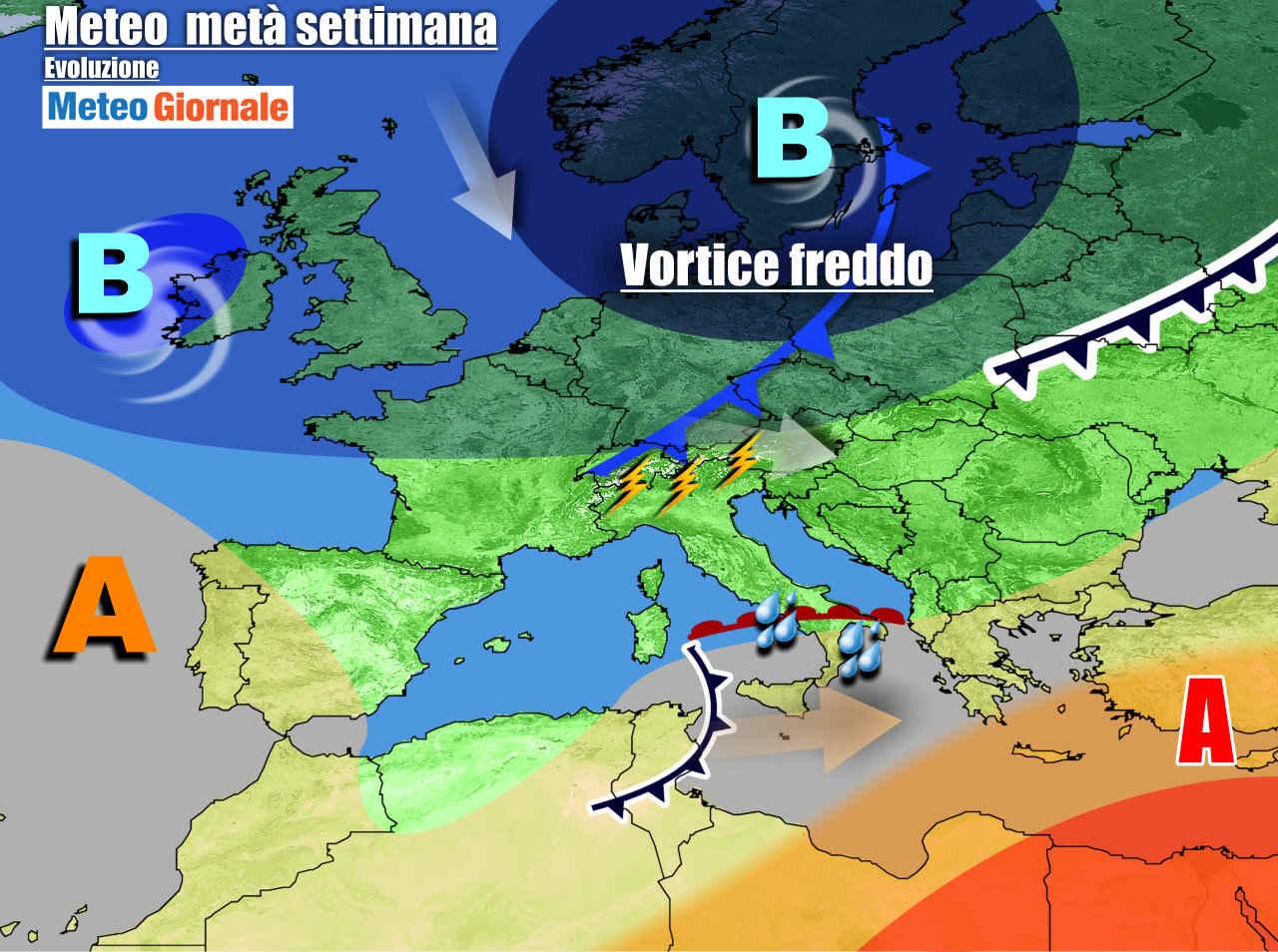meteogiornale 7 g 2 - METEO Italia. Tra sole e qualche pioggia, veloci perturbazioni