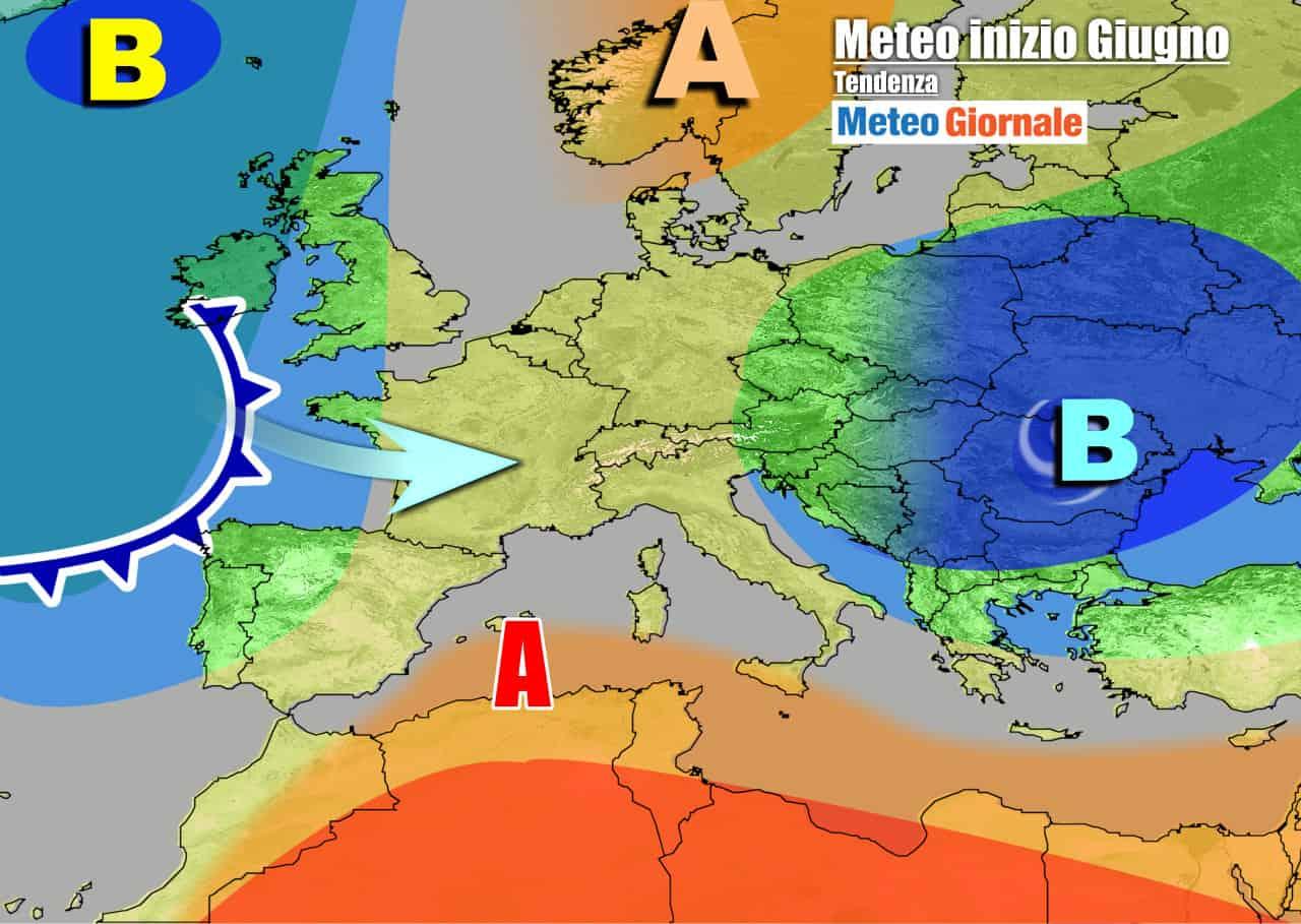 meteogiornale 7 g 29 - METEO 7 Giorni. Ecco i temporali ed il primo vero Caldo d'Estate