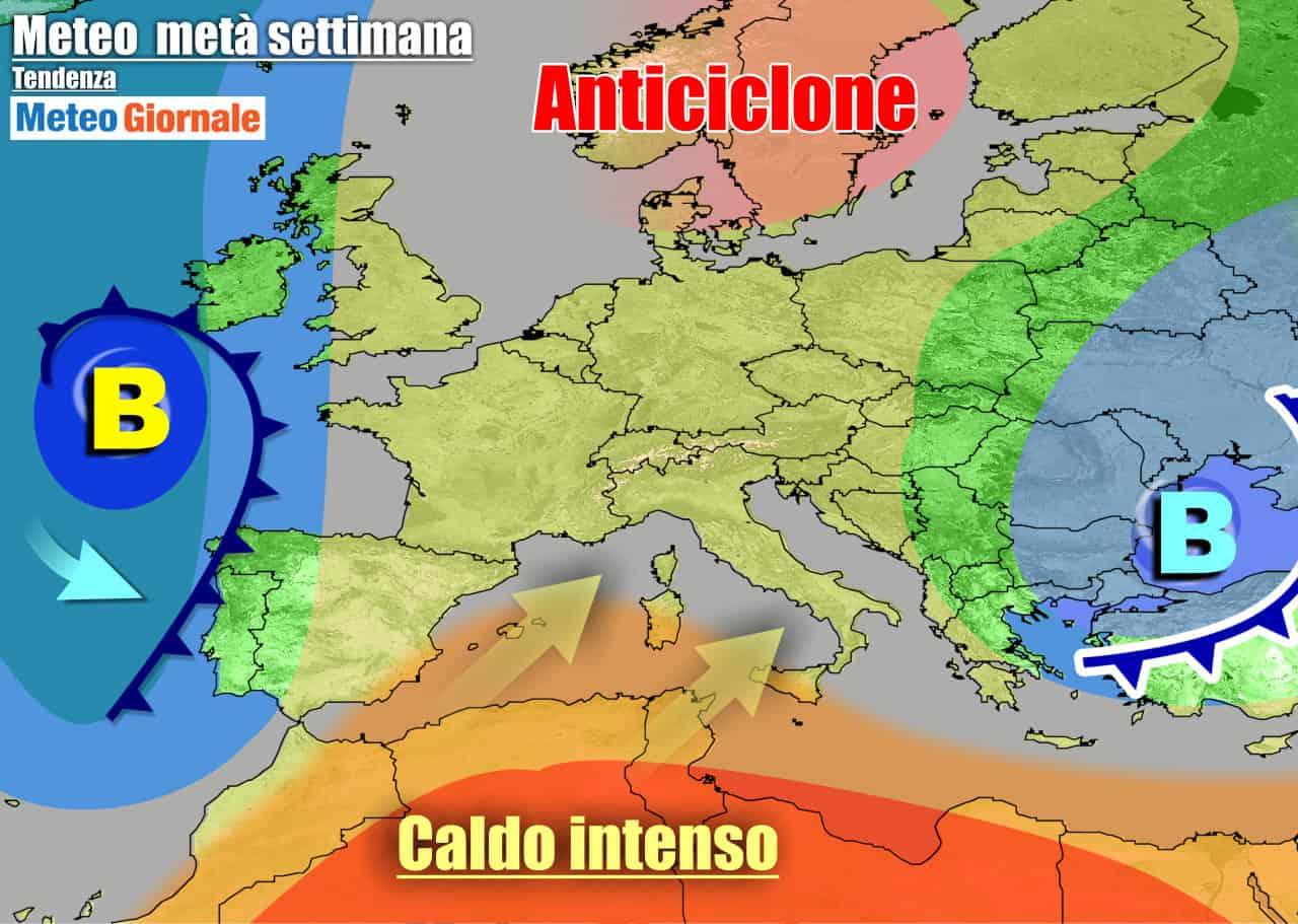 meteogiornale 7 g 30 - METEO 7 Giorni. Verso il primo caldo dell'estate sull'Italia