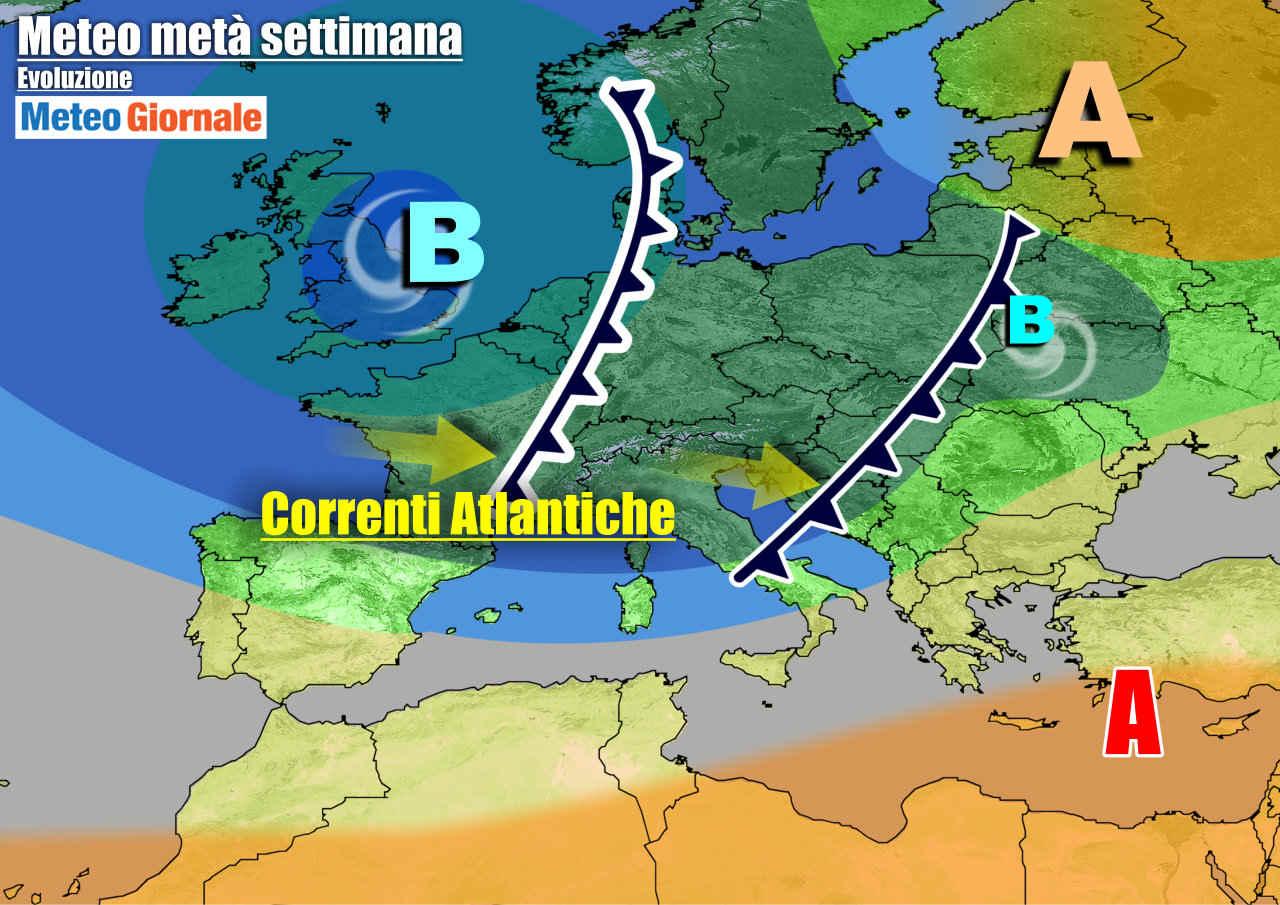 meteogiornale 7 g 9 - METEO Italia. STOP alla primavera. Riecco il MALTEMPO anche forte