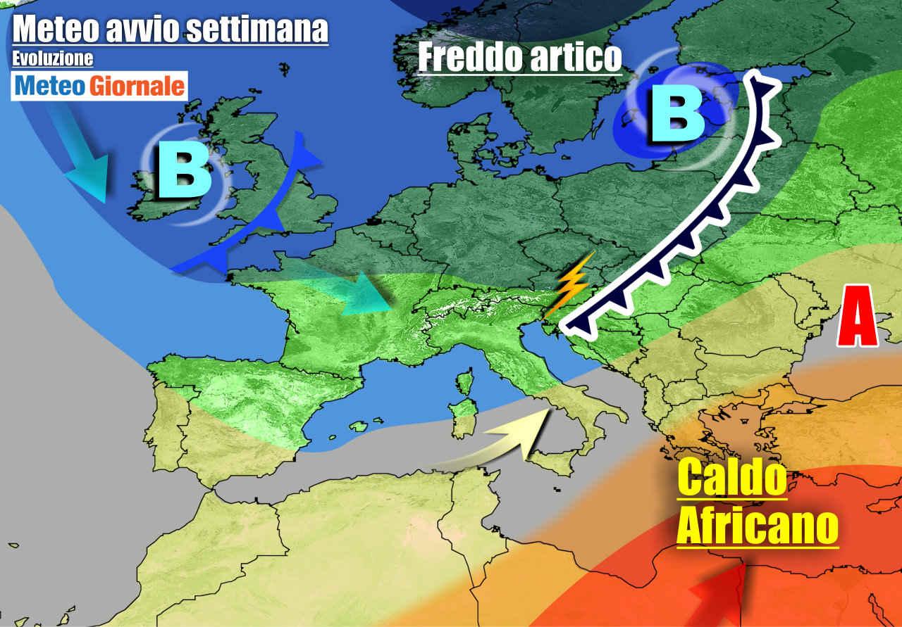 meteogiornale 7 g - METEO Italia. La Primavera capricciosa che non vuole iniziare