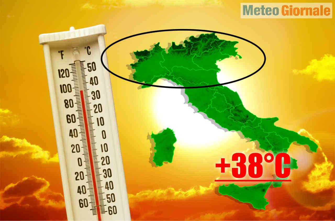 ondata di calore fine maggio - Fine MAGGIO, rischio METEO ESTREMO per caldo d'Africa