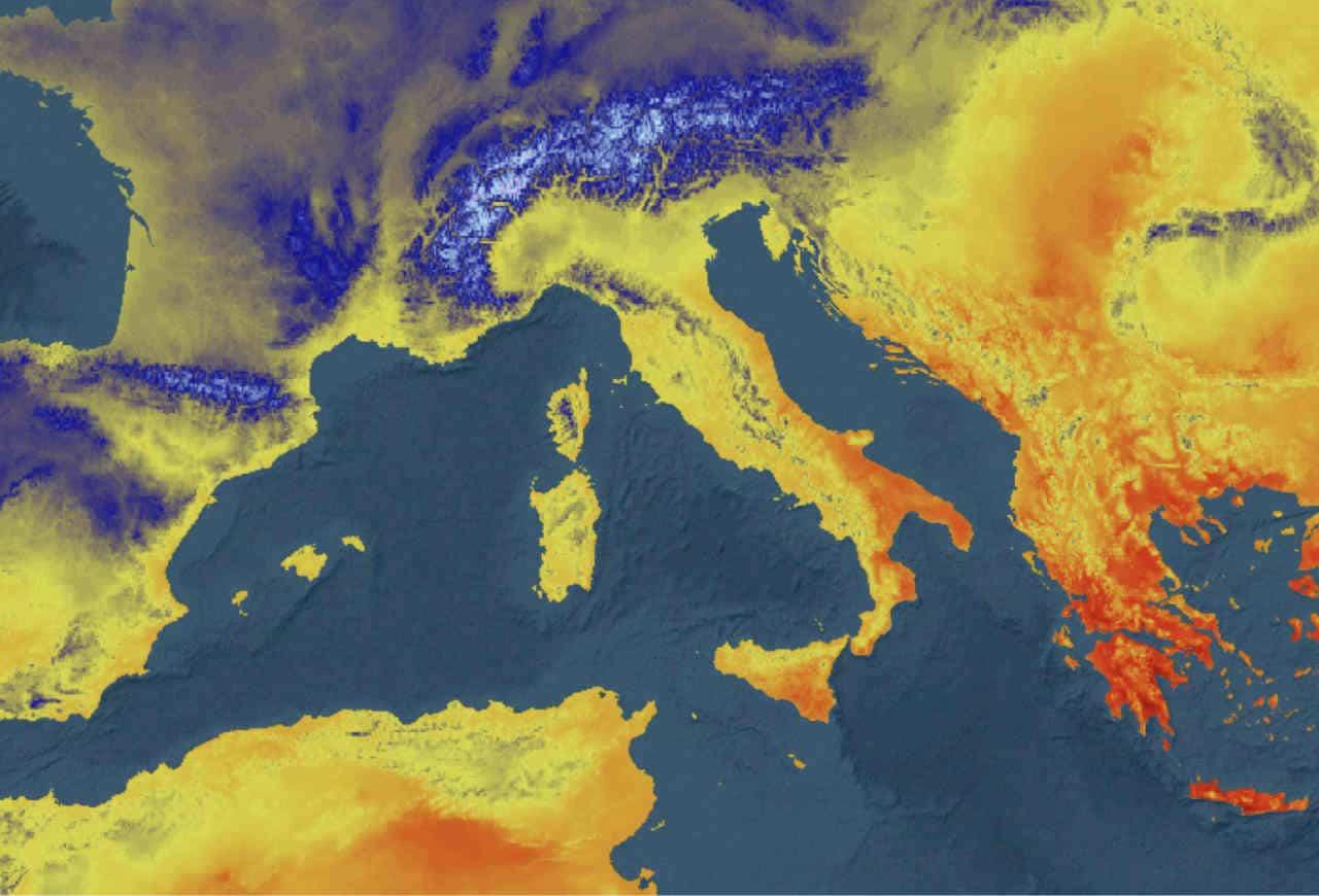 temperatura minima 25 05 2021 - ITALIA, temperature minime di questa notte
