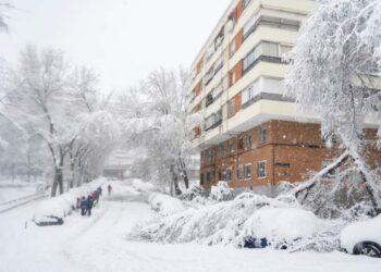 tempeste di neve europa centrale