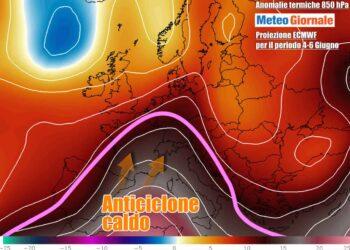 termiche 1 350x250 - METEO 7 Giorni, sbalzi termici, FRESCO e TEMPORALI. Poi CALDO