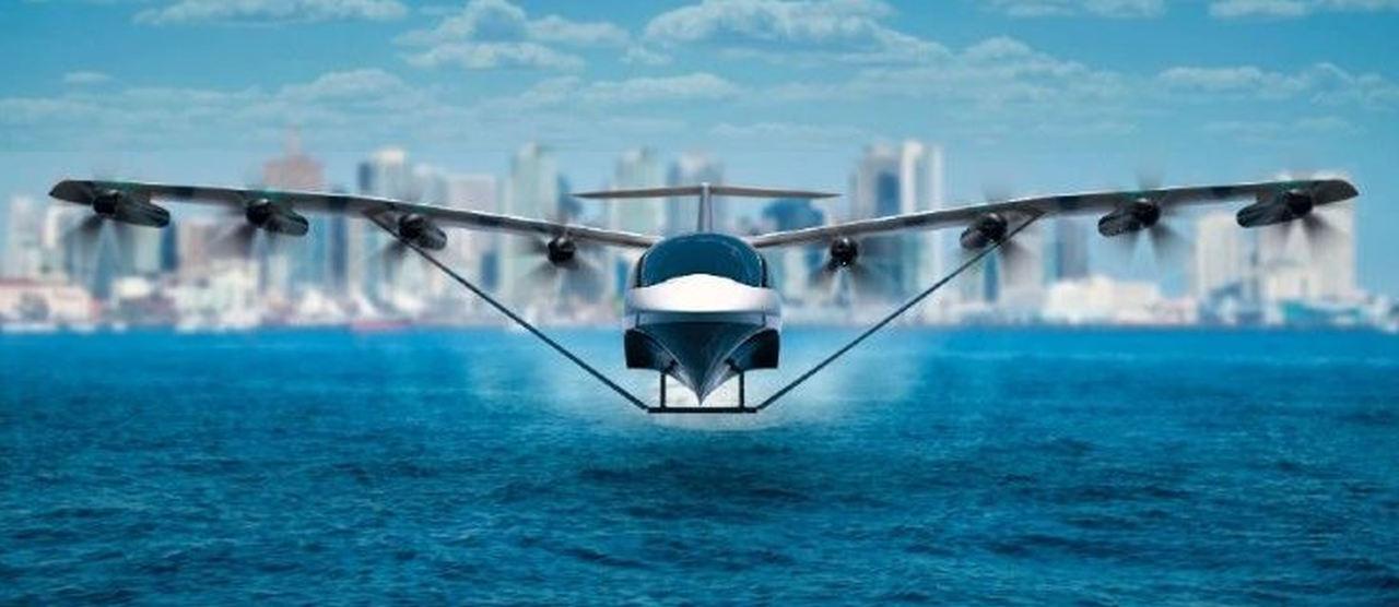 traghetto elettrico volante - Viaggiare in acqua a 300 all'ora? Sarà presto possibile, ecco come