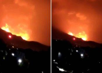Le immagini apocalittiche del vulcano Nyiragongo che si è risvegliato nel Congo