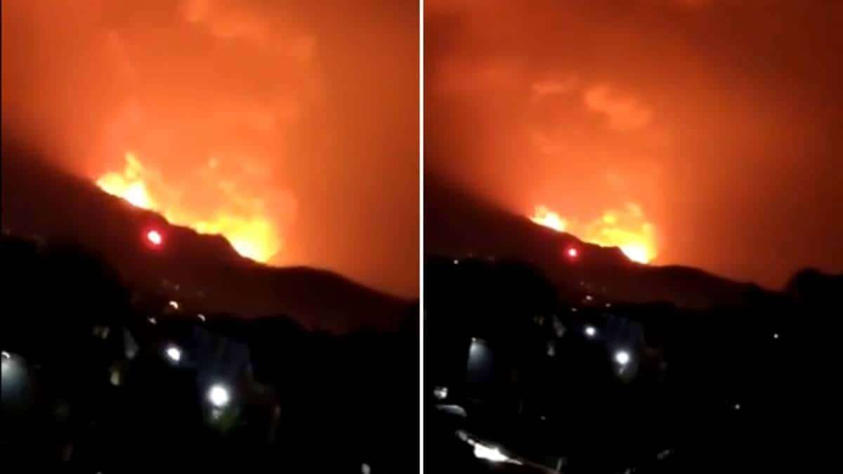 volcan Nyiragongo - Il Vulcano Nyiragongo, tra i più pericolosi del Pianeta è esploso. Gente in fuga
