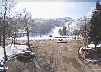 webcam live cerreto laghi re ved 350x250 - Meteo 7 Giorni. MALTEMPO con FREDDO e NEVE verso il Sud. Novità dal weekend
