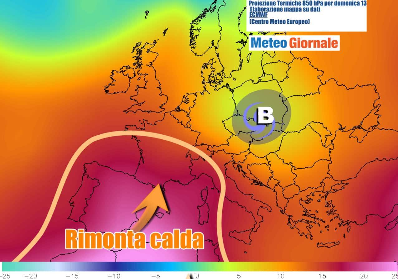 caldo weekend - METEO WEEKEND, arriva l'ANTICICLONE AFRICANO sull'Italia. Scoppia l'Estate