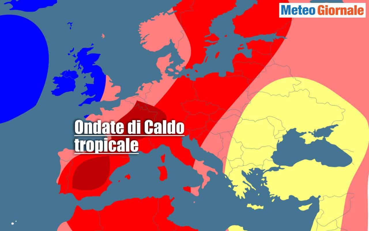centro meteo europeo estate 2021 caldo - Il Caldo dell'ESTATE 2021. Aggiornamenti dati dal CENTRO METEO EUROPEO