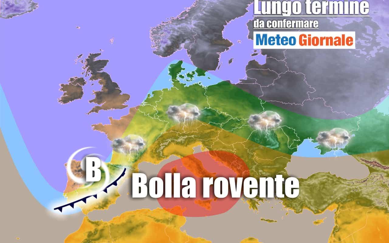 lungo termine 12 - METEO Italia al 29 giugno: forte, insistente ondata di CALDO