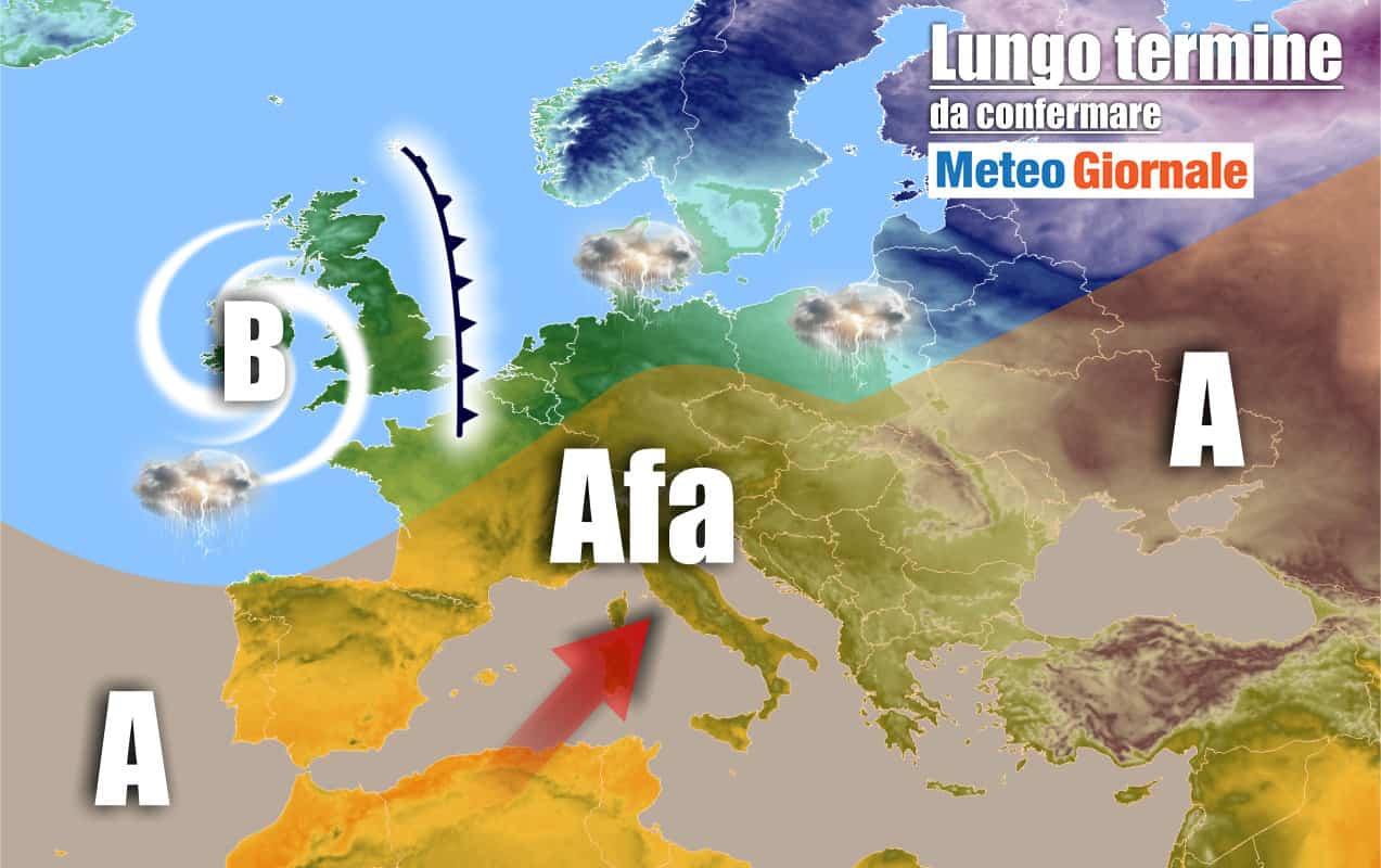 lungo termine2 - Meteo Italia al 5 luglio: ANTICICLONE africano senza tregua
