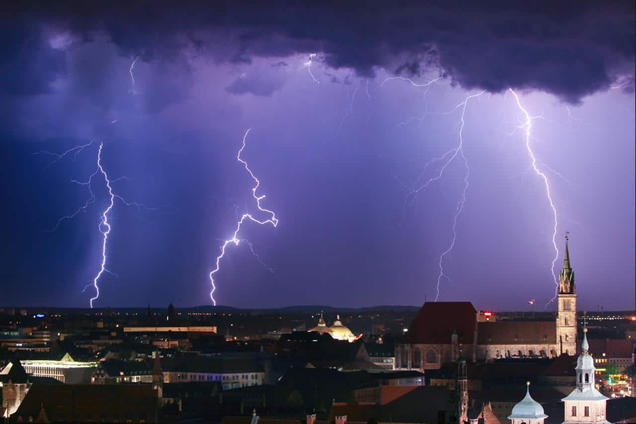 meteo 14303 - Allerta Meteo Protezione Civile del 5 giugno 2021