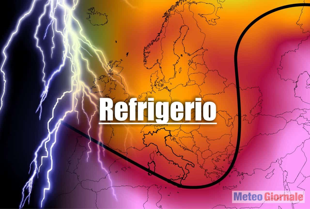meteo con refrigerio - Ultim'ora meteo, FINALMENTE un potenziale REFRIGERIO dal CALDO estremo