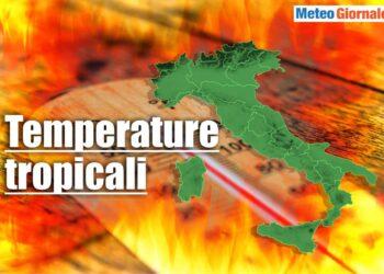meteo con temperature tropicali 350x250 - Estate Mediterranea SPARITA. Meteo sempre più estremo, altre ONDATE di CALDO?