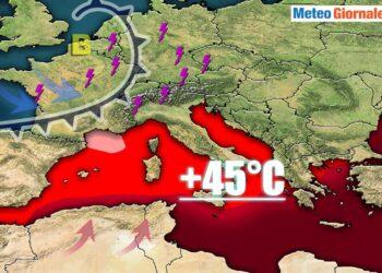 meteo estivo 2021 a rischio ondate di calore