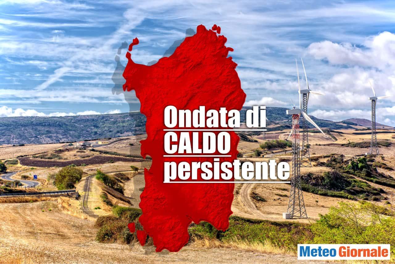 meteo sardegna ondata di caldo - Meteo Sardegna toccati i 40°C