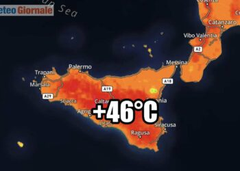 meteo sicilia ondata di calore record