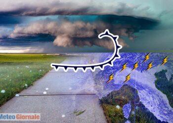 meteo temporalesco al nord italia 350x250 - METEO Italia. CALDO ovunque sin verso metà settimana, poi NOVITÀ in arrivo