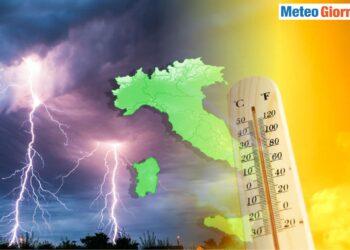 Violenti temporali, il rischio dell'Estate 2021