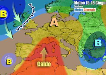 Anticiclone africano sull'Italia