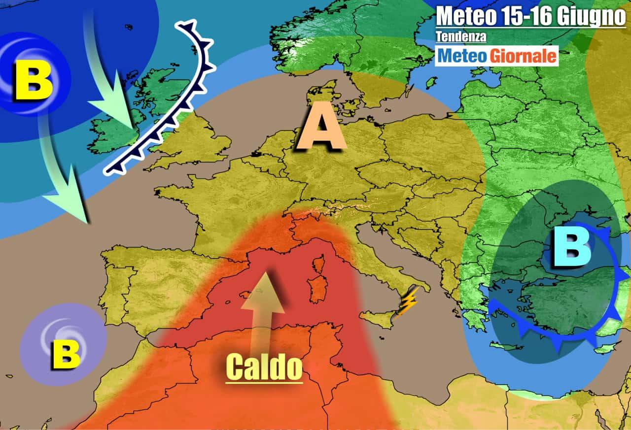 meteogiornale previsioni 7 giorni 10 - METEO Italia. Ecco l'ESTATE, tra GRAN CALDO e isolati TEMPORALI