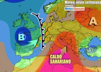 Italia divisa fra caldo e temporali, scenario meteo che permarrà per diversi giorni