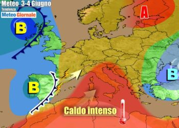 Anticiclone al top sull'Italia tra giovedì e venerdì