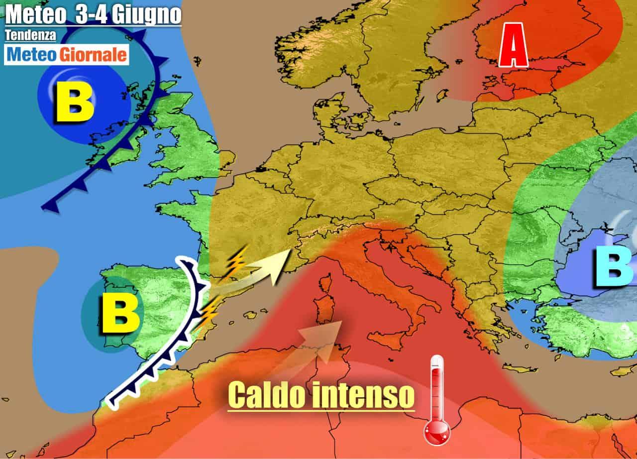 meteogiornale previsioni 7 giorni - METEO 7 Giorni. Inizia l'estate sull'Italia, CALDO in arrivo