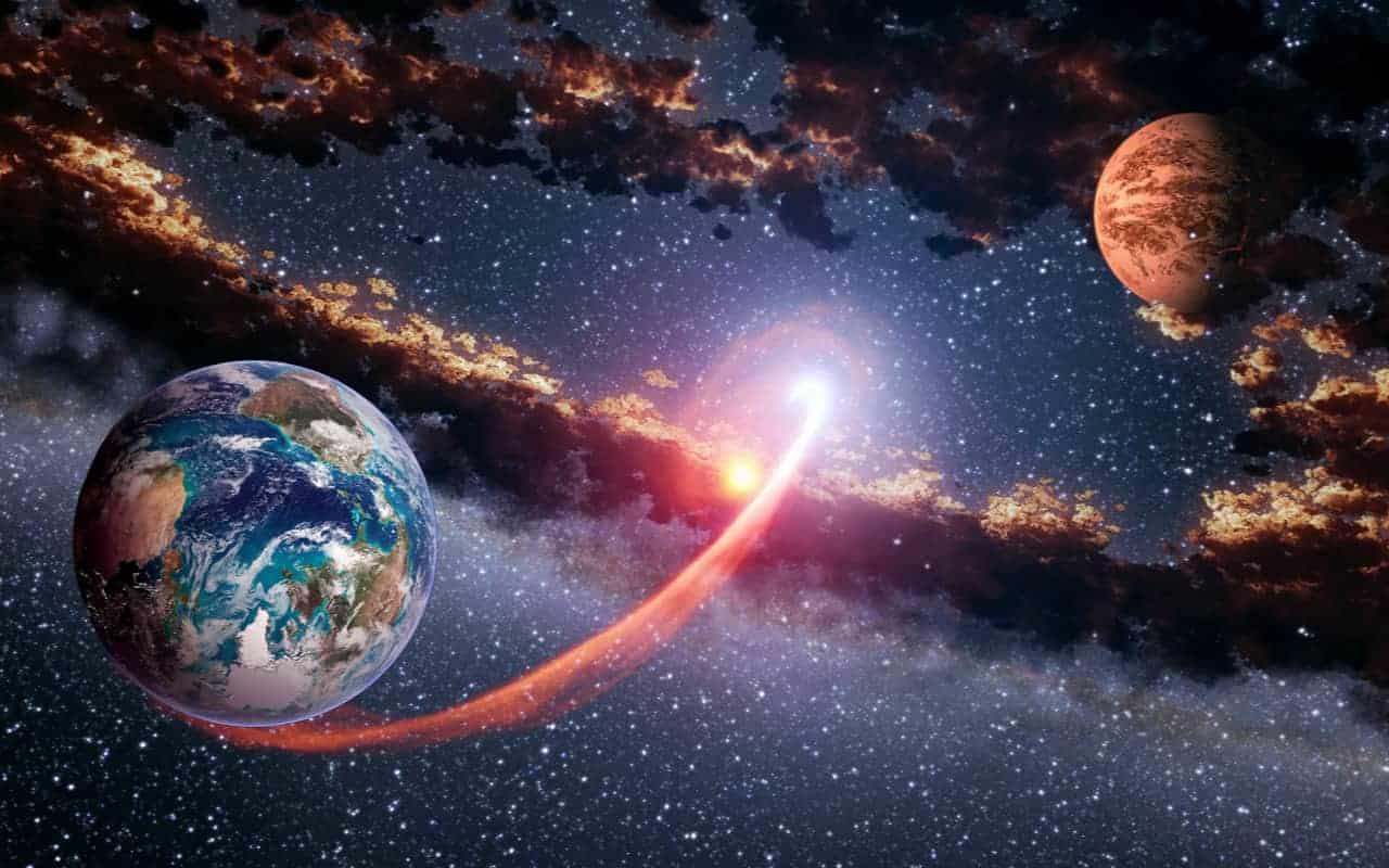 meteorite tra terra e marte 1 - Vita su Marte. Le prove rinvenute sulla Terra in alcune Meteoriti